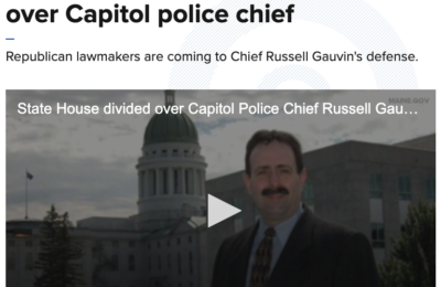 GOP letter intensifies political fight over Capitol police chief